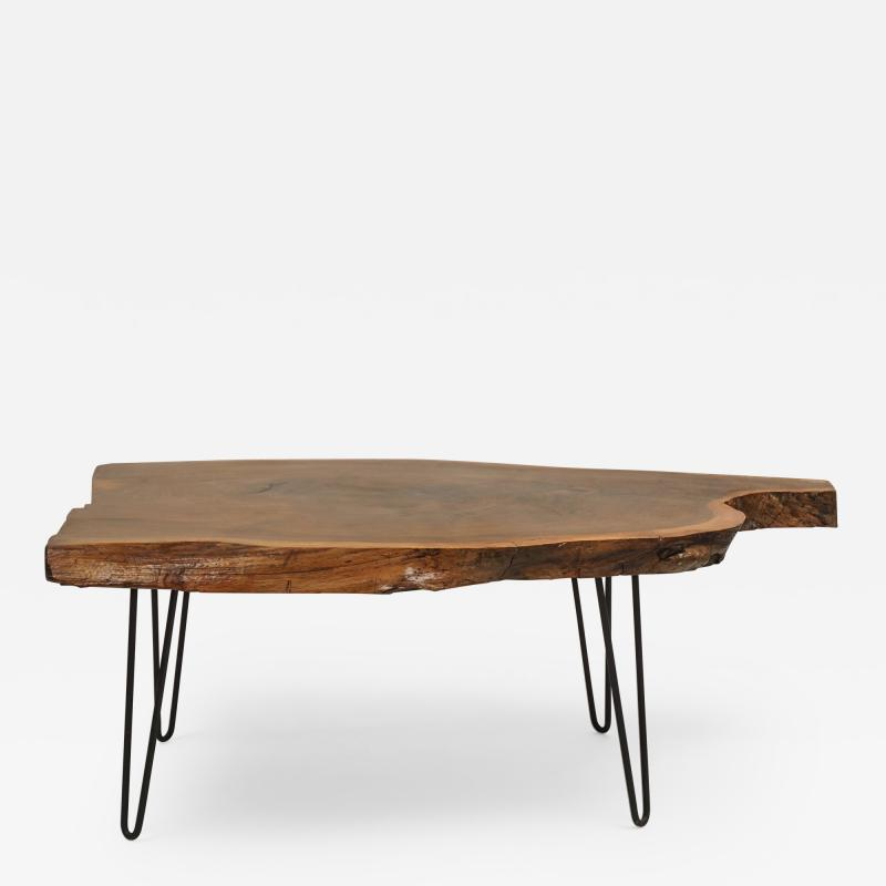 Live Edge Walnut Low Table