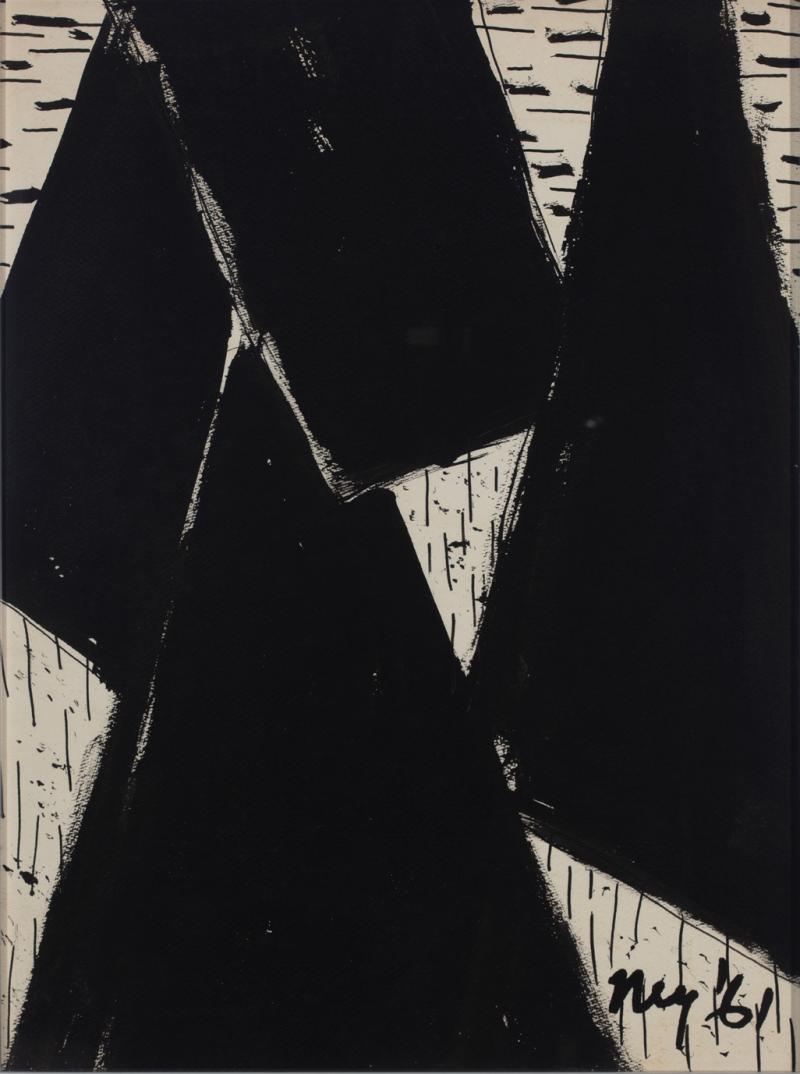 Lloyd Raymond Ney Black White