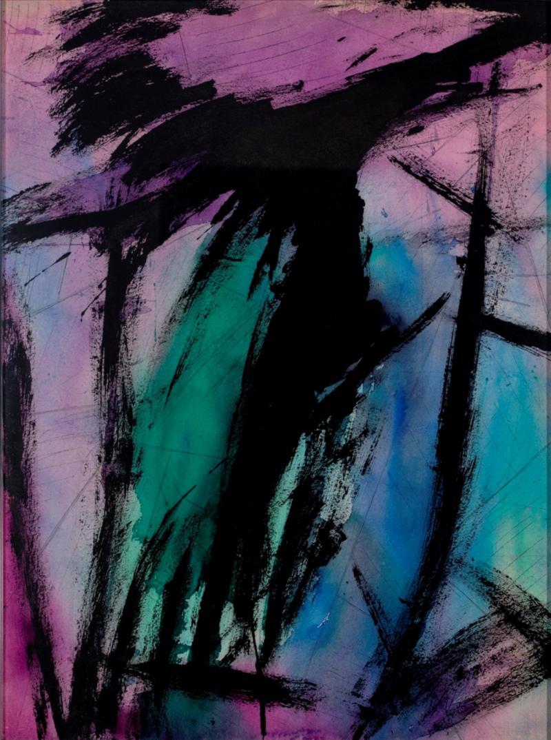Lloyd Raymond Ney Purple Skies