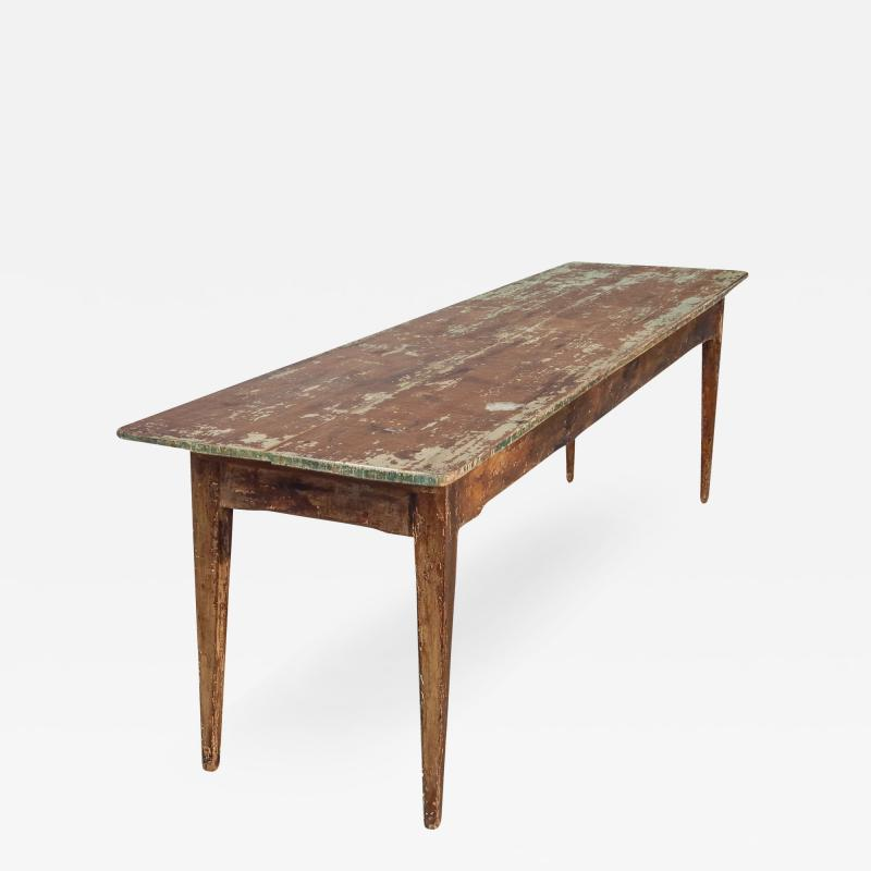 Long Wood Console