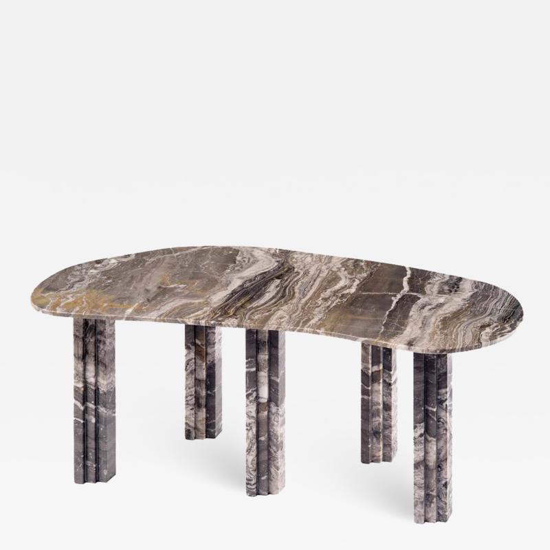 Lorenzo Bini Sculptural Marble Coffee Table Lorenzo Bini