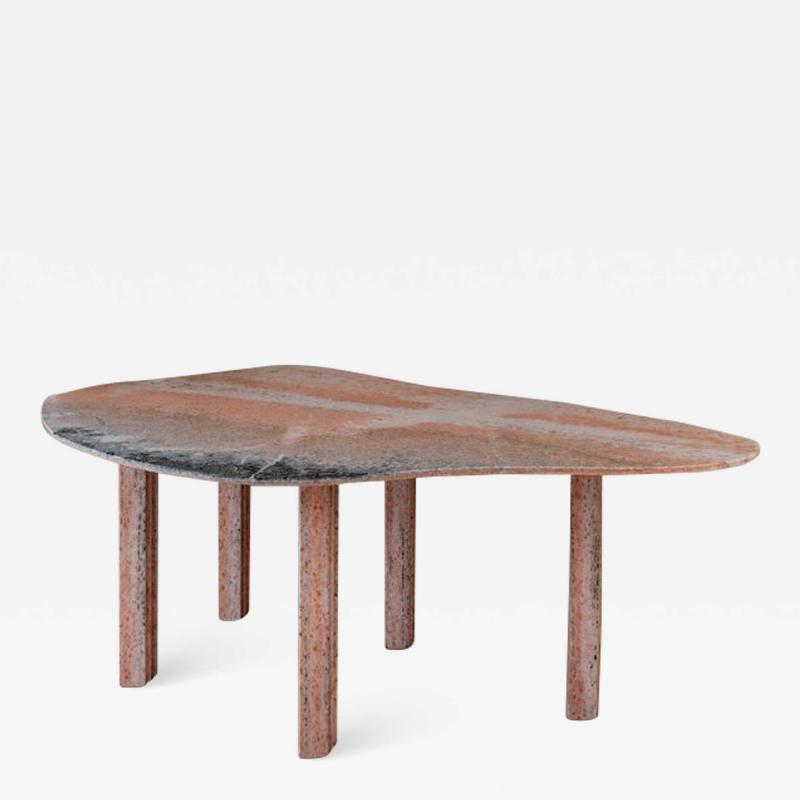 Lorenzo Bini Sculptural Pear Marble Coffee Table Lorenzo Bini