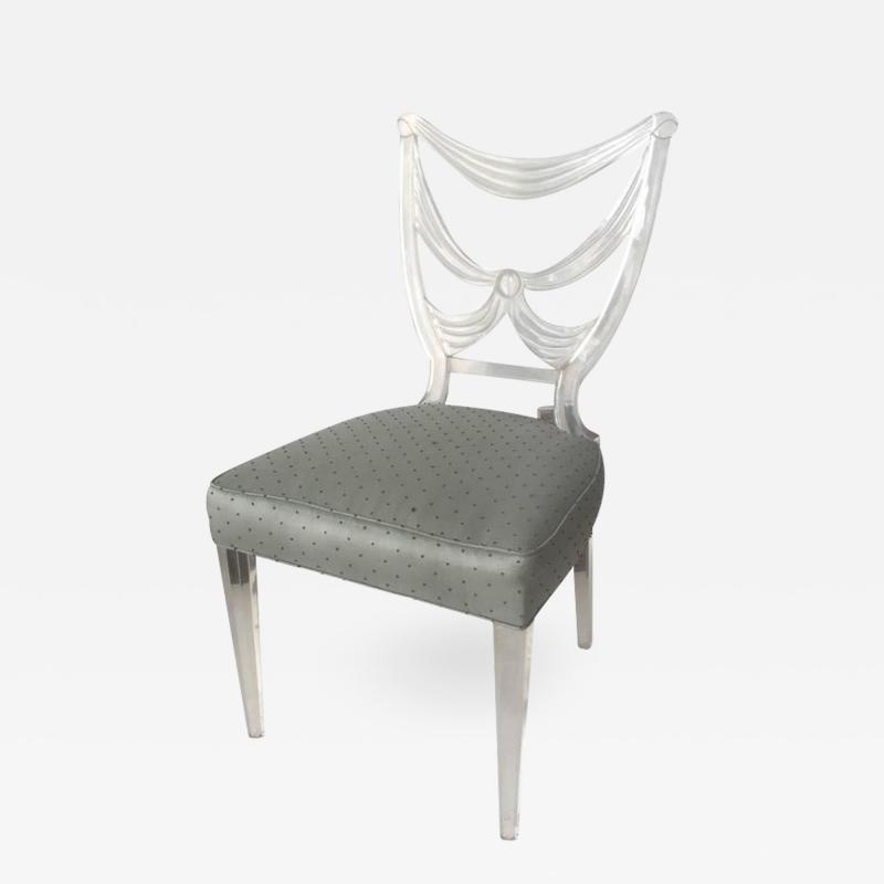 Lorin Jackson Lorin Jackson Glassic Collection Lucite Chair