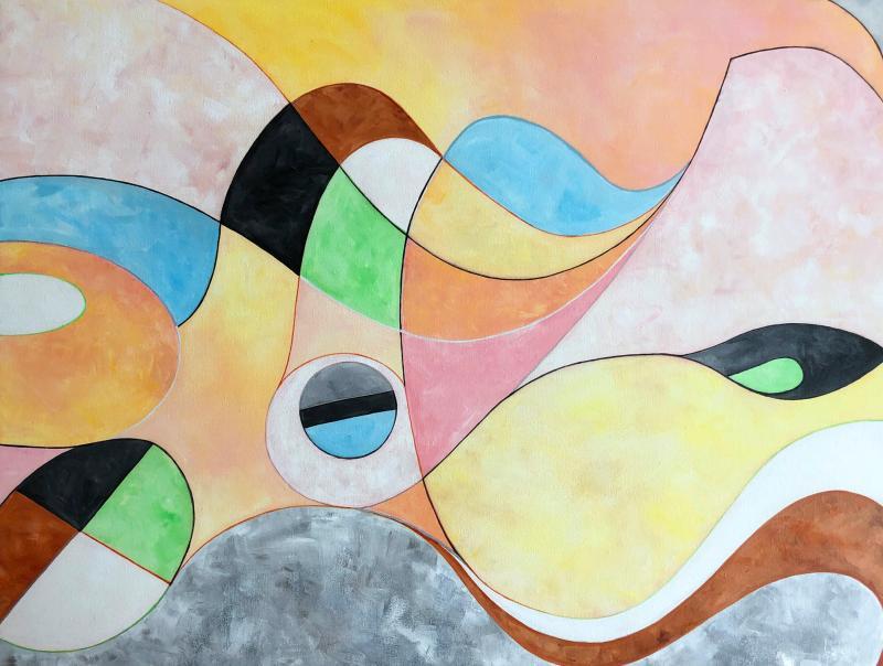 Lorraine Benton Abstract Landscape