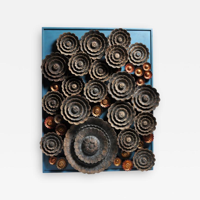 Lotus Flower Wall Sculpture