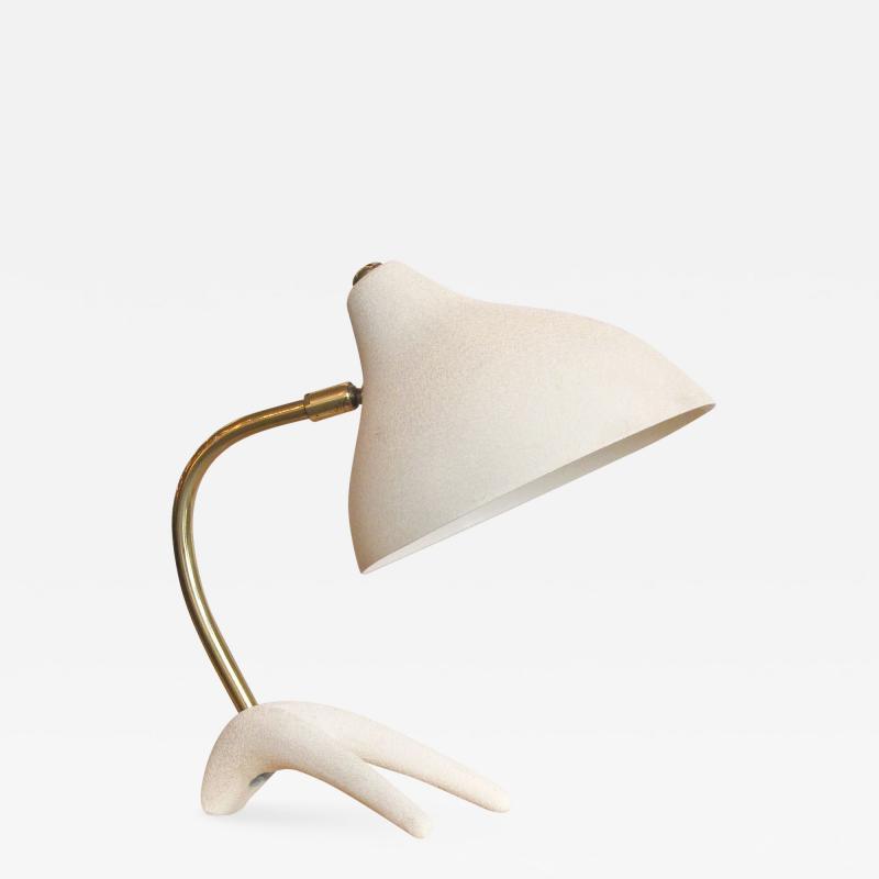 Louis C Kalff Table Lamp Kra henfuss by Louis Kalff