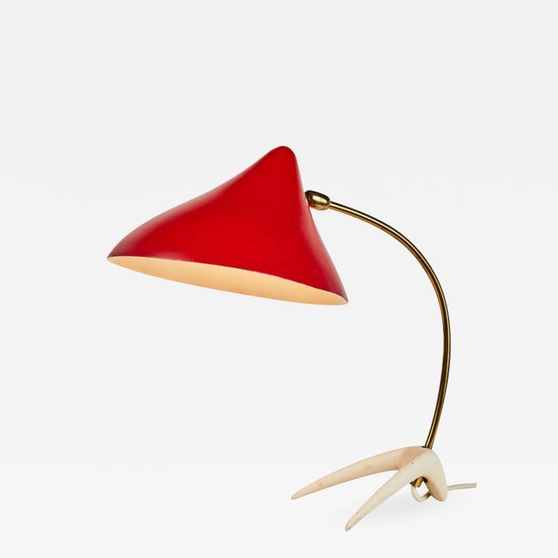 Louis Christiaan Kalff 1950s Louis Kalff Kr henfuss Table Lamp for Philips