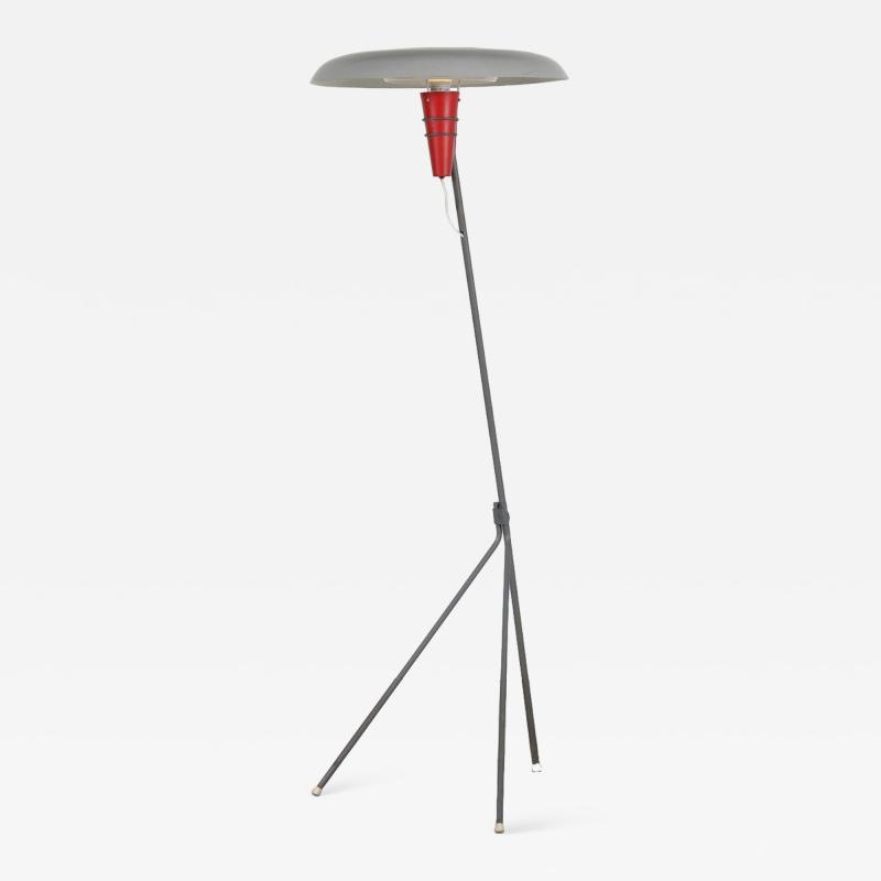 Louis Christiaan Kalff Louis Kalff NX38 Floor Lamp for Philips Netherlands 1950