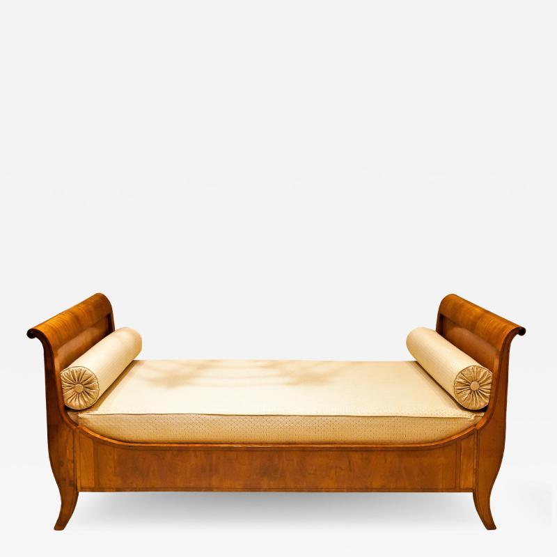 Louis Philippe Sleigh Bed Circa 1840 France