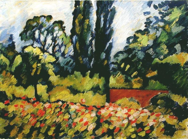 Louis Valtat Le Jardin Fleuri a Choisel