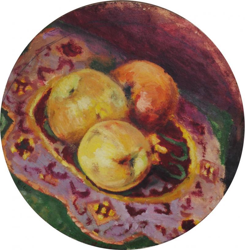 Louis Valtat Valtat Double Sided Study Grandson of Renoir Impressionist Artist