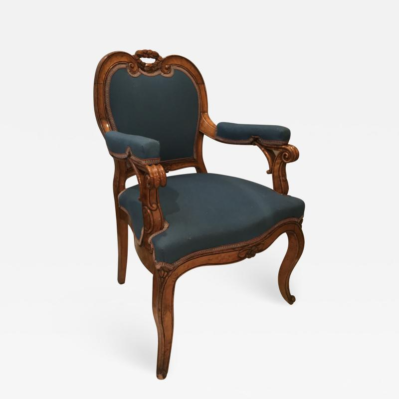 Louis XV Style Armchairs France 19th century