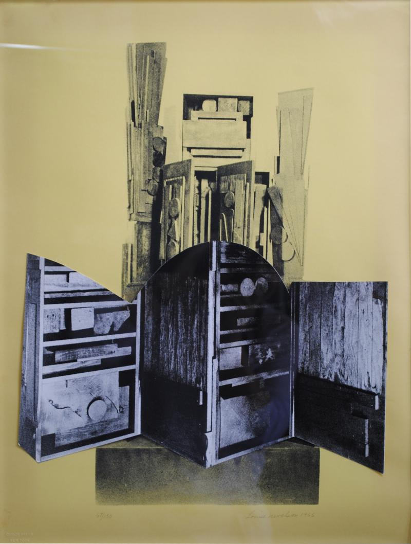 Louise Nevelson Louise Nevelson Signed and Numbered Screen Print