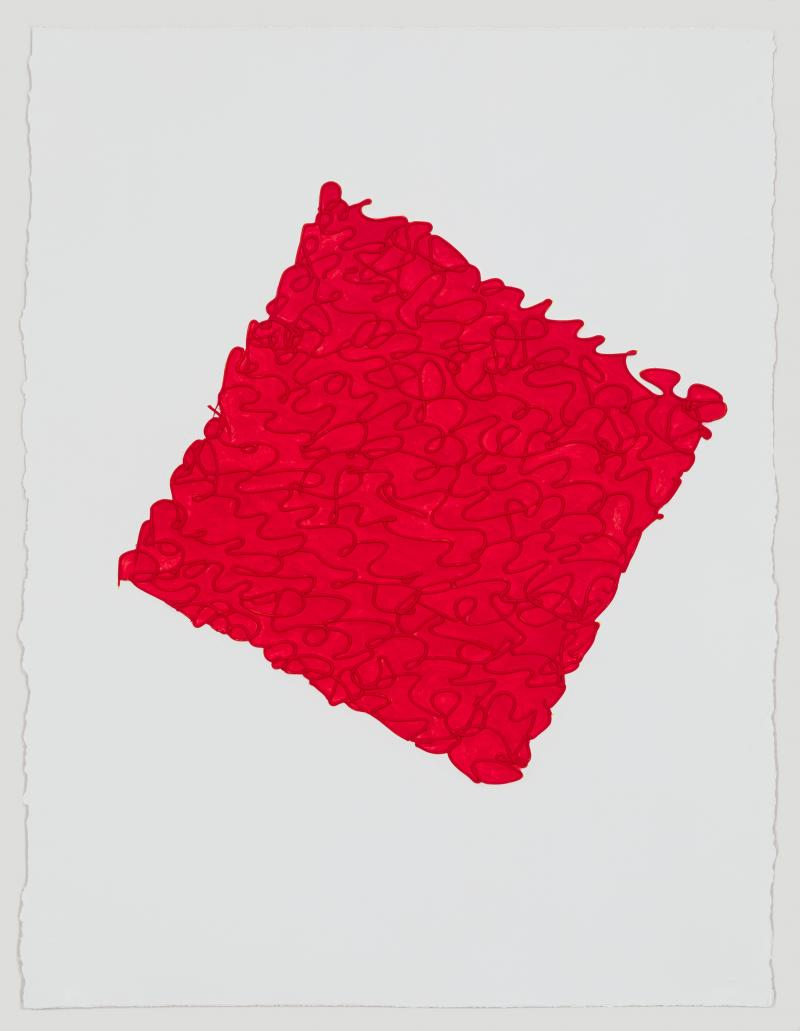 Louise P Sloan Pyrrole Red