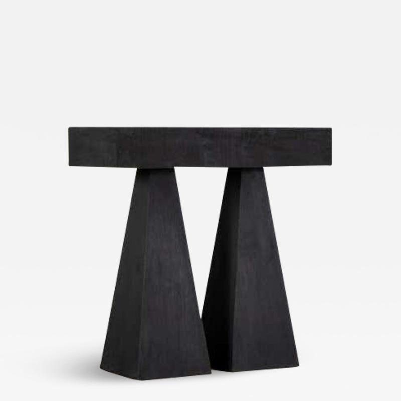 Lucas Morten Torn High Console Table by Lucas Morten