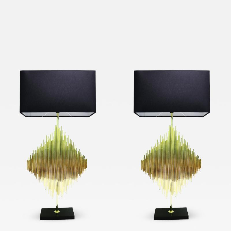 Luciano Frigerio Luciano Frigerio Pair of table lamps