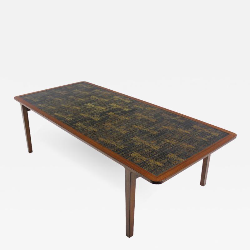 Ludvig Pontoppidan Extraordinary Danish Modern Table Designed by Ludvig Pontoppidan