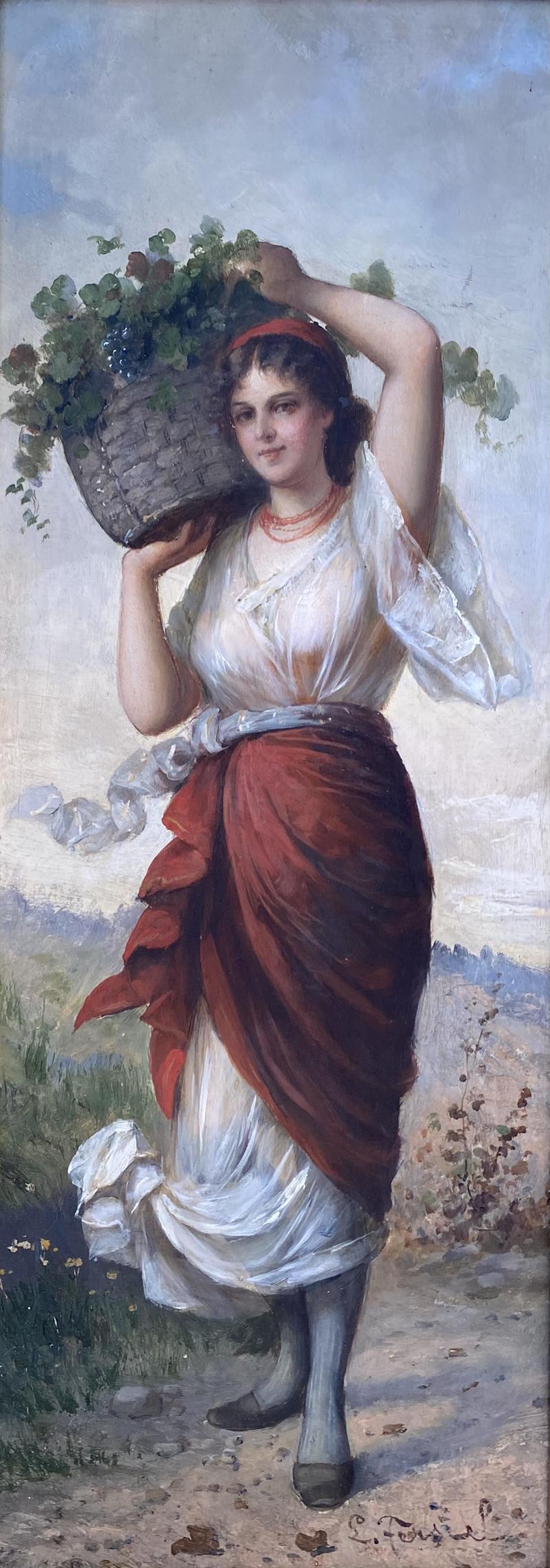 Ludwig Ferstel Dalmatian Grape Seller