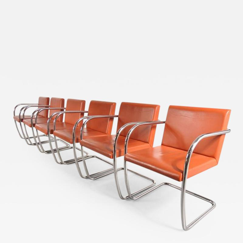 Ludwig Mies Van Der Rohe 1970s Stock of BRNO Chairs by Mies Van Der Rohe for Knoll International USA