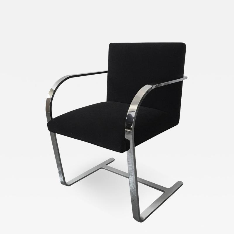 Ludwig Mies Van Der Rohe Brno Chair in Black