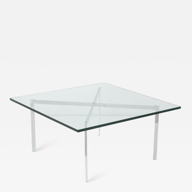 Ludwig Mies Van Der Rohe Dessau Coffee Table by Ludwig Mies van der Rohe for Waldemar Stiegler