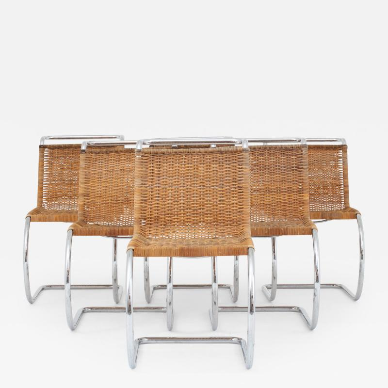 Ludwig Mies Van Der Rohe MR 10 Dining chairs set