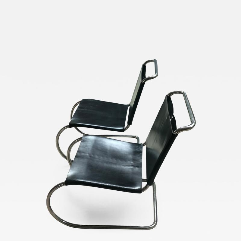 Ludwig Mies Van Der Rohe MR Lounge Chairs Mies Van Der Rohe Knoll Ass