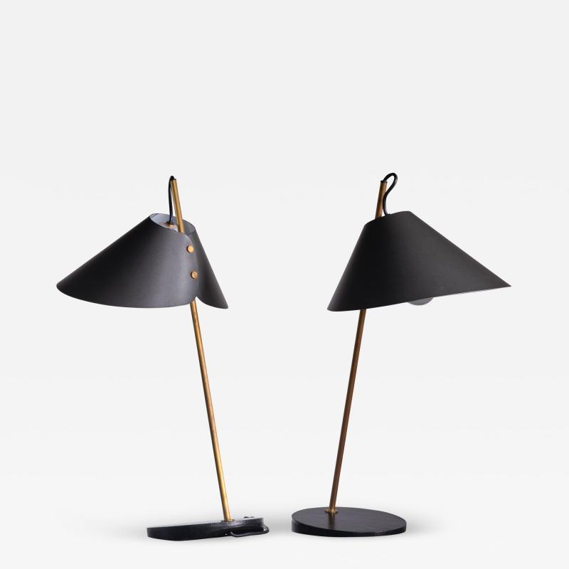 Luigi Caccia Dominioni Pair of Table Lamps by Caccia Dominioni for Azucena