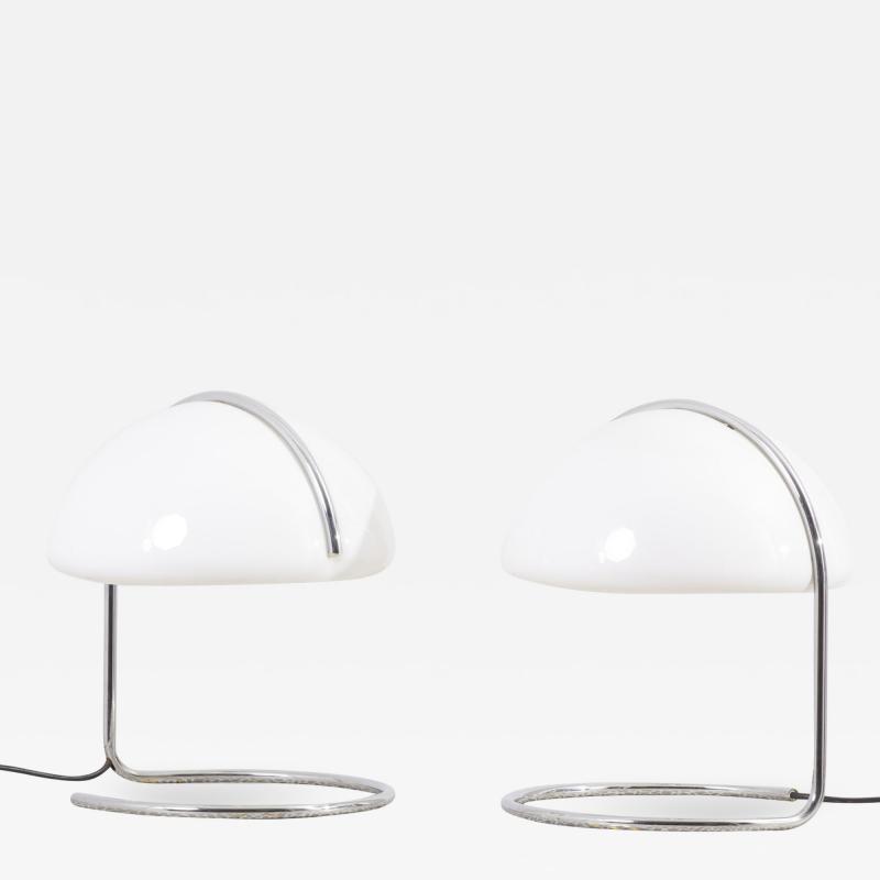 Luigi Massoni Pair of Table Lamps by Luigi Massoni Luciano Buttura for Harvey Guzzini Italy