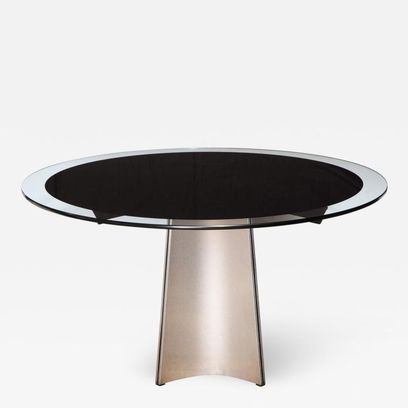 Luigi Saccardo Dining Table by Luigi Saccardo for Maison Jansen France 1970s