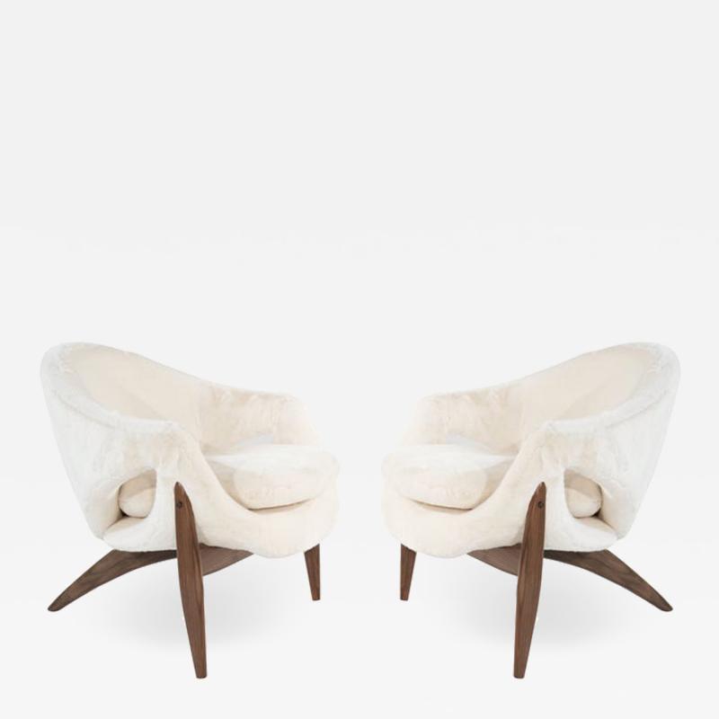 Luigi Tiengo Set of Lounge Chairs by Luigi Tiengo for Cimon Montr al 1963