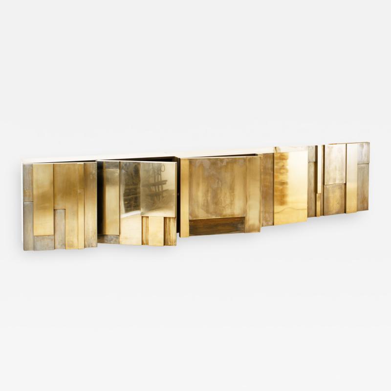 MUR Sideboard Hand Patinated Brass Masterpiece