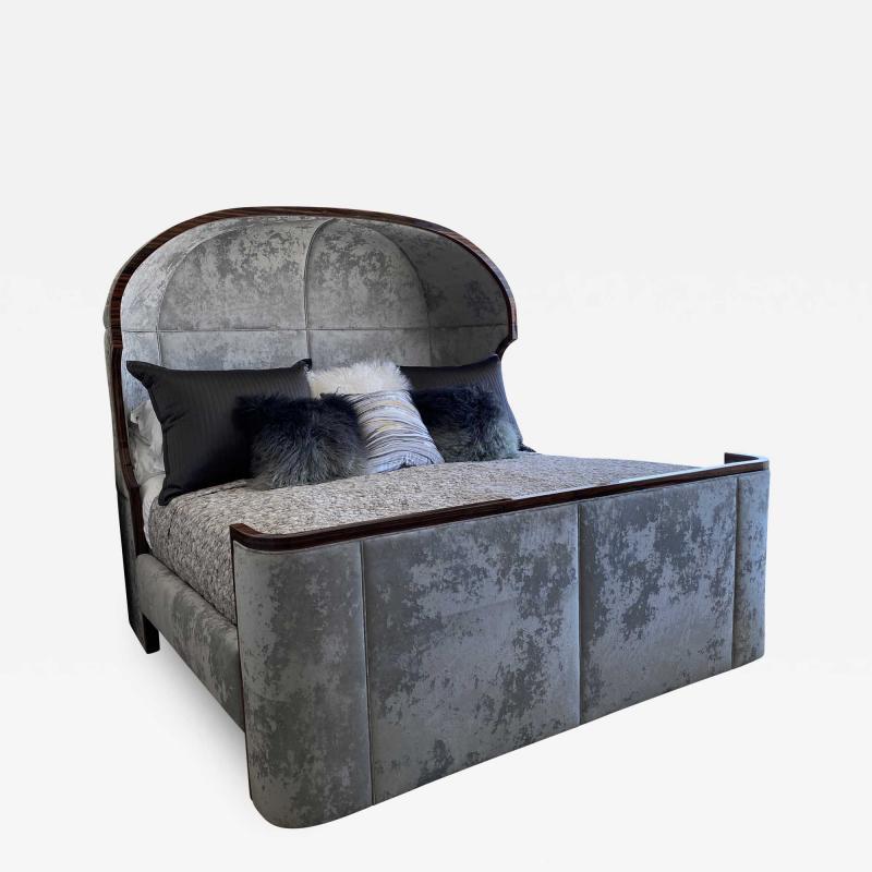 Macassar Ebony Canopy Bed
