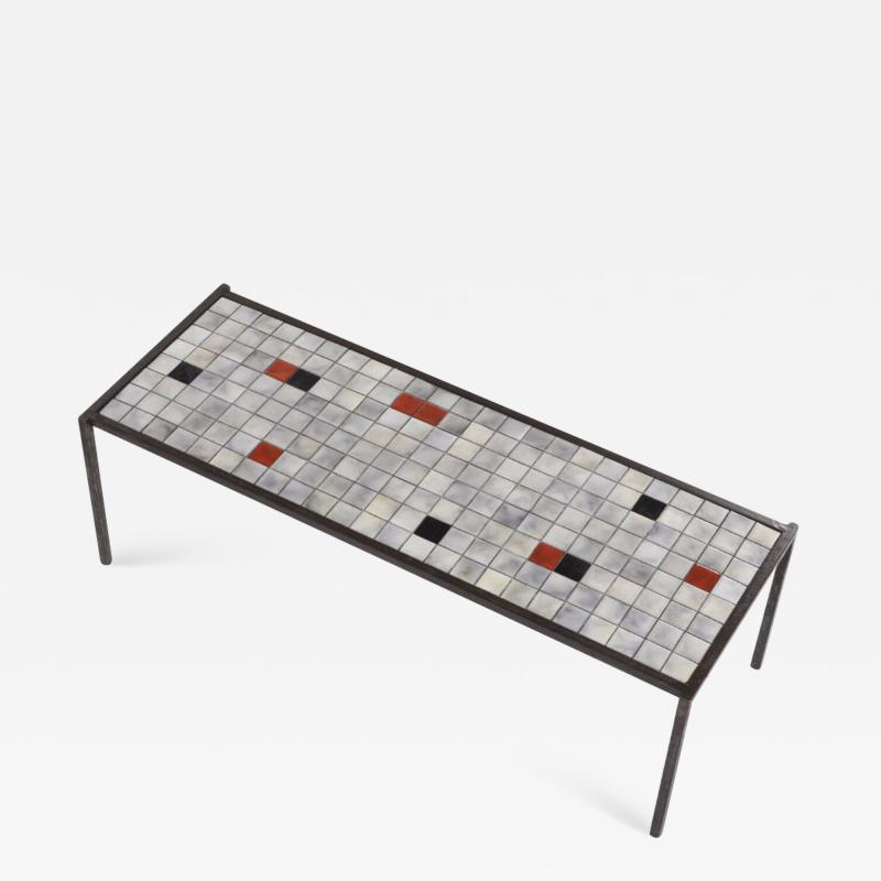 Mado Jolain Mado Jolain purest ceramic and iron coffee table