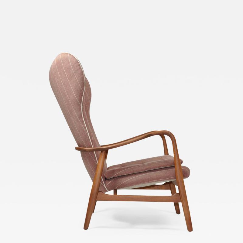 Madsen Sch bel Madsen Schubel High Back Danish Lounge Chair