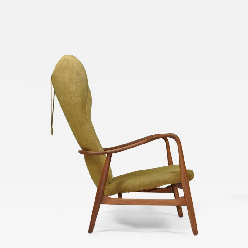 Madsen Sch bel Madsen Schubell High Back Danish Lounge Chair