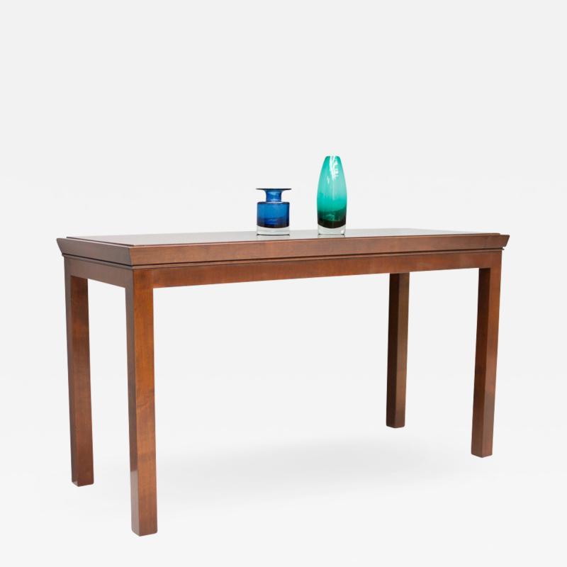 Mahogany Console Table 1970s