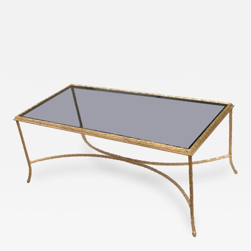 Maison Bagues Gilt Bronze Coffee Table