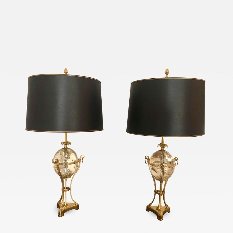 Maison Charles Pair of Maison Charles Table Lamps