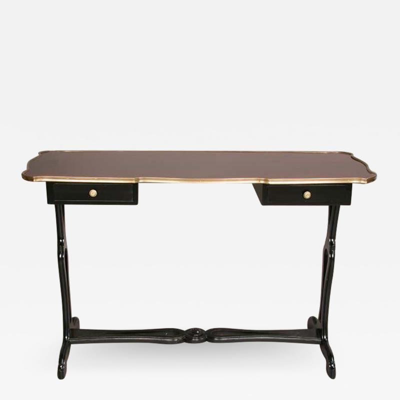 Maison Jansen French Mid Century Console or Sofa Table by Maison Jansen