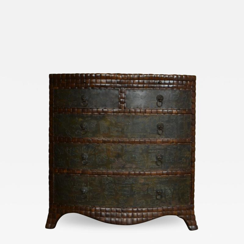 Maithland Smith Coconut Commode