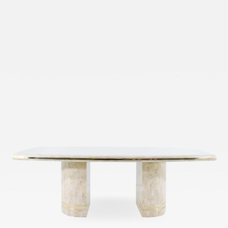 Maitland Smith Maitland Smith Tesellated Marble Dining Table