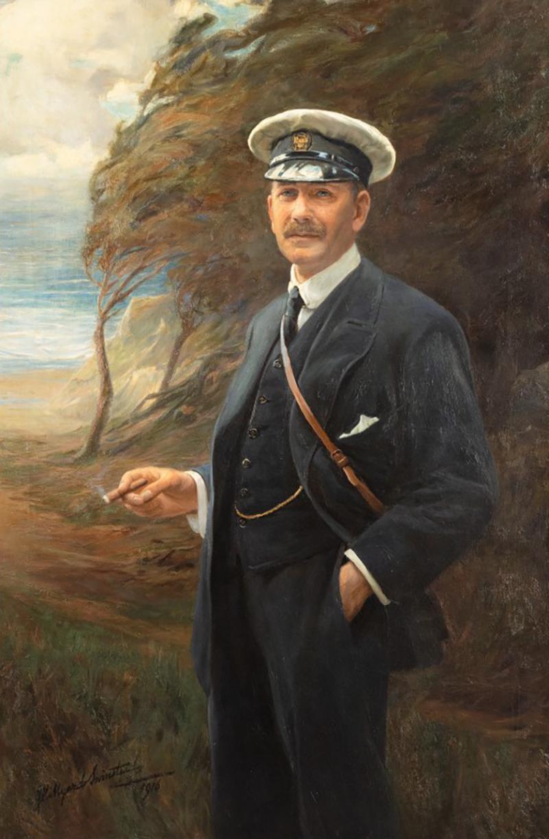Major R Sloane Stanley by George Hillyard Swinstead 1916