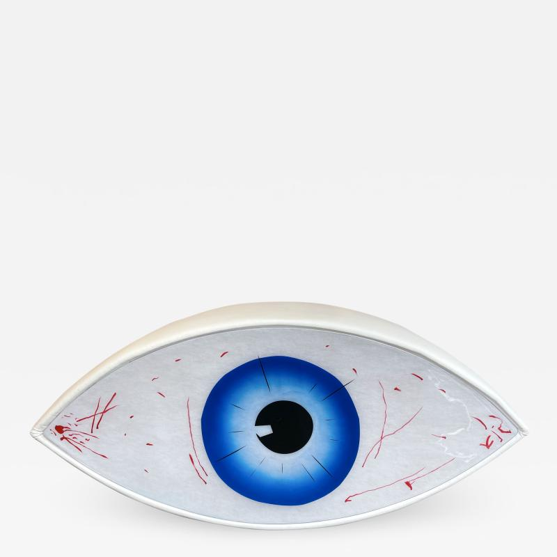 Man Ray Bench Eye Le Temoin by Man Ray for Studio Simon Italy 1971