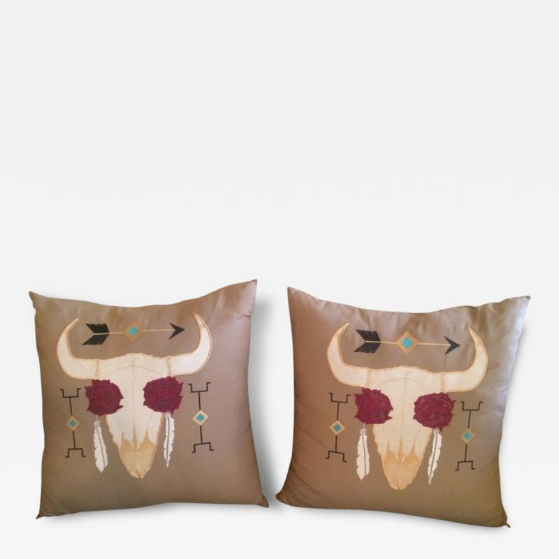 Manuel Cuevas Manuel for E T Burk Throw Pillows