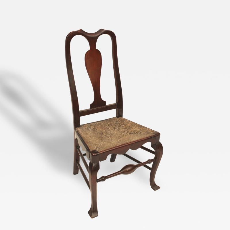 Maple Savery Side Chair with Yoke Crest