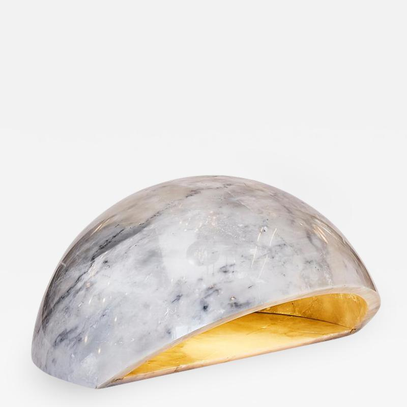 Marble Half Sphere Table Lamp