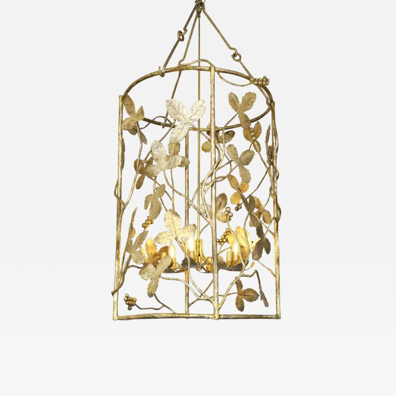 Marc Bankowsky Vines Pendant lighting in gilded bronze by Marc Bankowsky