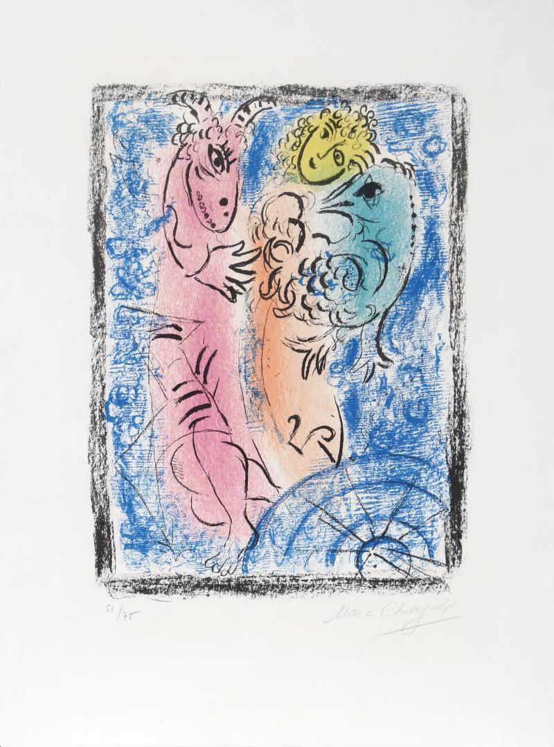 Marc Chagall Le Pie ge M 355
