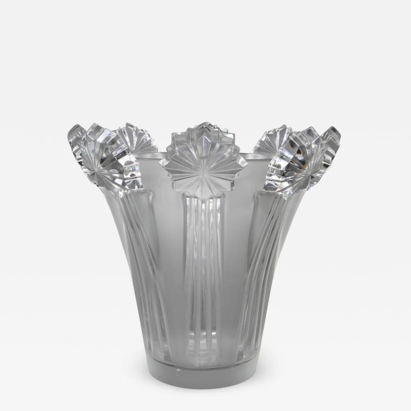 Marc Lalique A Lalique Commette Vase Designed By Marc Lalique In 1940